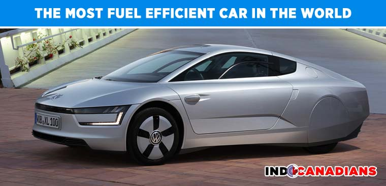 The most fuel efficient car in the world - Volkswagan XL1