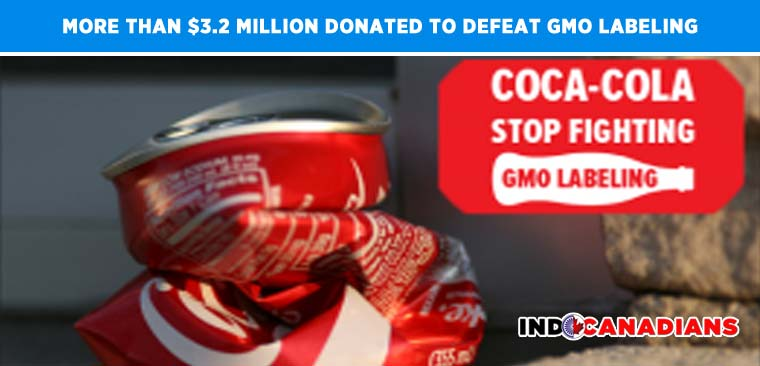 Coca-Cola Has Donated More Than $3.2 Million To Defeat GMO Labeling
