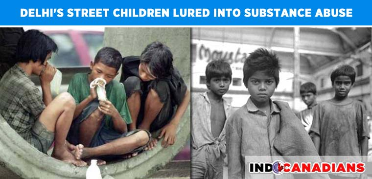 Over two lakh of Delhi's street children lured into substance abuse