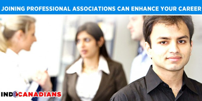 Joining professional associations can enhance your career