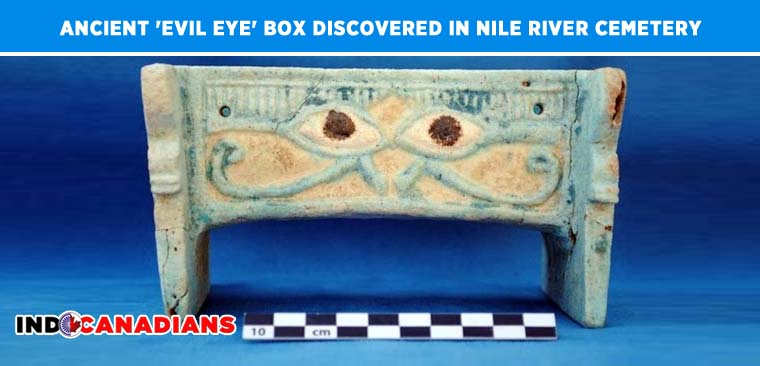 'Evil Eye' Box Discovered In Nile River's Ancient Cemetery