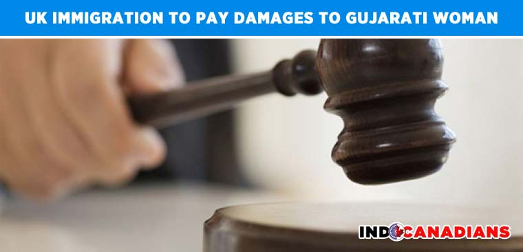 UK Immigration to pay damages to visiting Gujarati woman