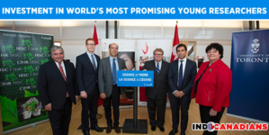 Harper Government Investment in World's Most Promising Young Researchers