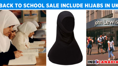 John Lewis's new line, hijabs to wear at school: Back to school sale in UK department stores