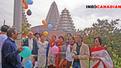 Seniors Club Hindu Sabha Brampton Celebrates Independence Day