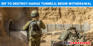 IDF to completely destroy of Hamas tunnels; Troops begin withdrawal