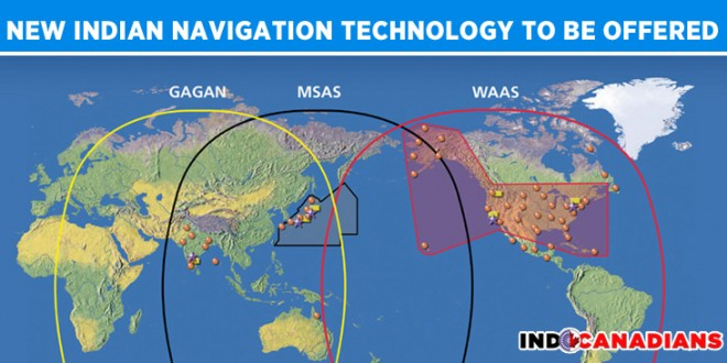 New Indian navigation technology 'Gagan' to be offered to partner countries