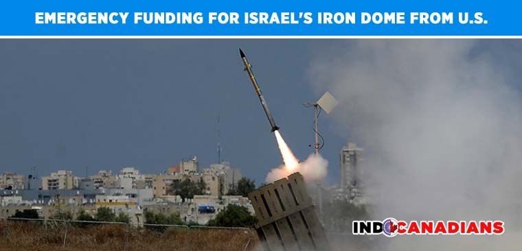 US Congress passes emergency funding for Israel's Iron Dome