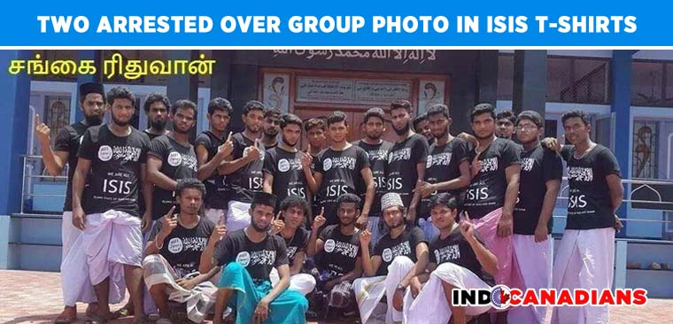 Two Arrested Over Group Photo in ISIS T-shirts in Tamil Nadu