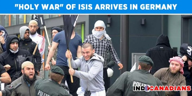 """""""Holy War"""" of ISIS Arrives in Germany"""