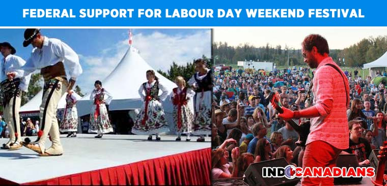 Federal support for Labour Day weekend Festival
