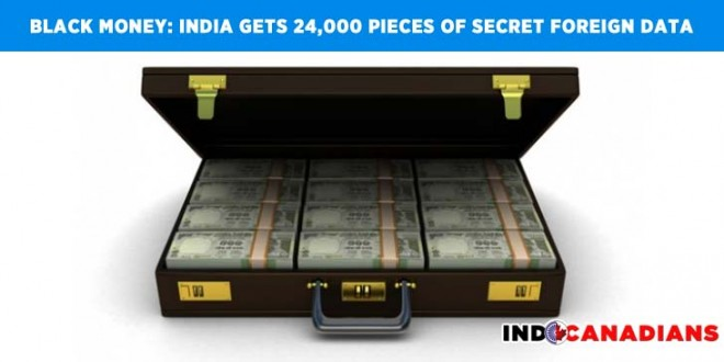 Black money: India gets 24,000 pieces of secret foreign data