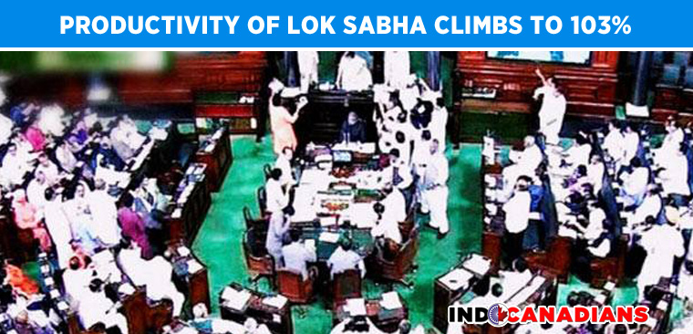 productivity-improvement-modi-lok-sabha
