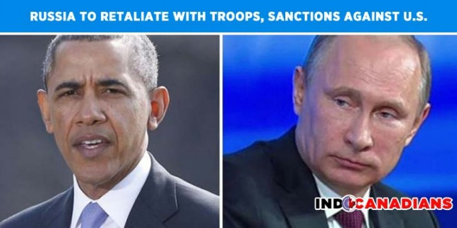 Russia to retaliate with boots on the ground and new economic sanctions on U.S.