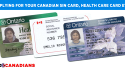How to applying for your Canadian SIN card, health care card and more