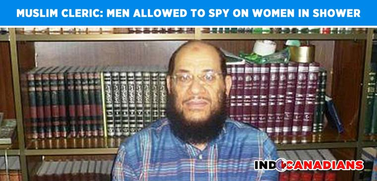 Outrage as Egyptian cleric says men are allowed to spy on women in the shower