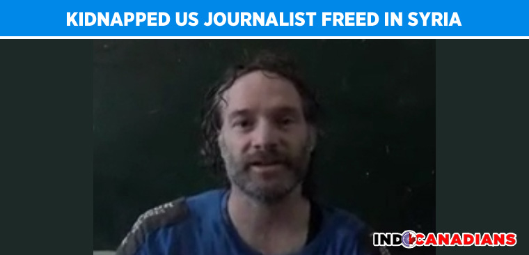 Kidnapped US journalist freed in Syria