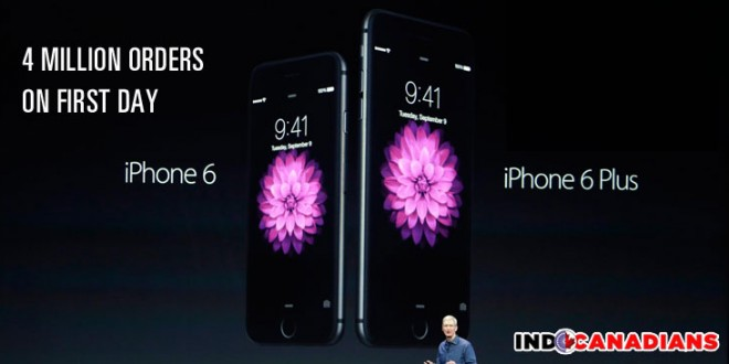 Apple iPhone 6 pre-orders hit record 4 million on first day