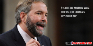 $15 Federal minimum wage proposed by Canada's opposition NDP