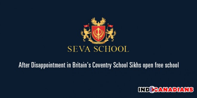 After Disappointment in Britain's Coventry School Sikhs open free school