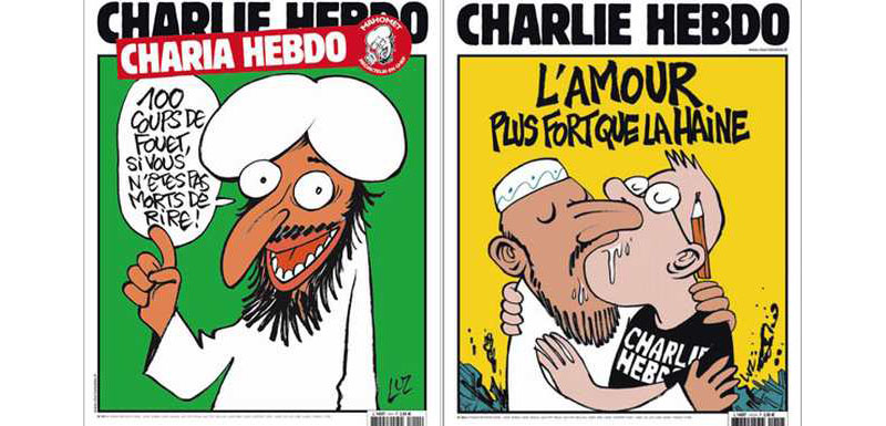 Muslim woman editor arrested for reprinting 'Charlie Hebdo' cartoons