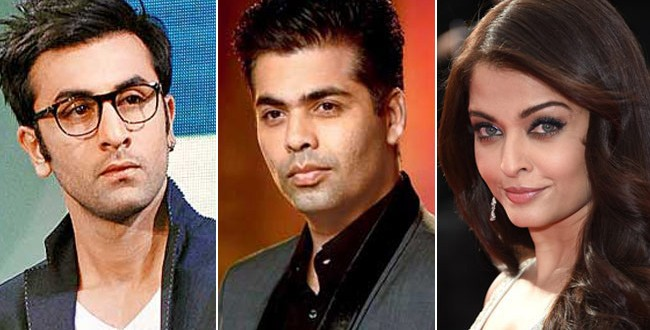 Karan Johar signs Aishwarya Rai, Ranbir Kapoor and Anushka Sharma for Ae Dil Hai Mushkil