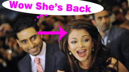Excited to see Aishwarya back on big screen: Abhishek