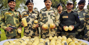 Heroin seizures on Pakistan borders touches new high