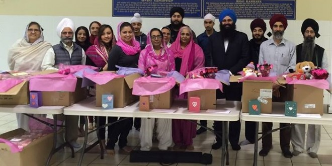 Sikhs serve shelters across Canada for One Billion Rising Movement