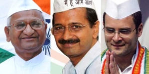 Arvind Kejriwal, Rahul Gandhi can join protest but not share stage: Anna Hazare