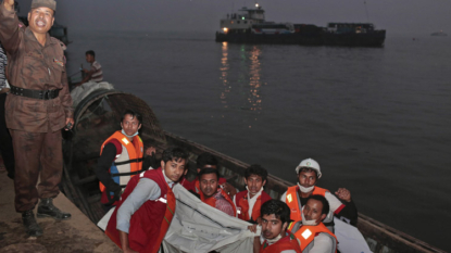 33 killed as Bangladesh ferry with 150 people sinks