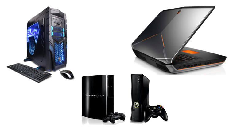 Gaming laptop vs Gaming PC vs Gaming Console