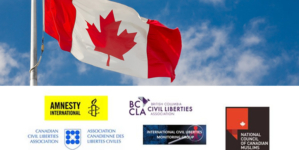 Rights Group appreciate the statement from Eminent Canadians for review and oversight