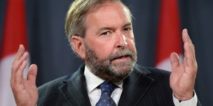 "Bill C-51 is ""sweeping, dangerously vague, and likely ineffective,"" says federal NDP Leader Mulcair"