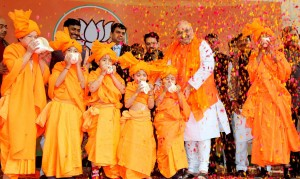 Amit Shah re-elected as BJP president for next three years