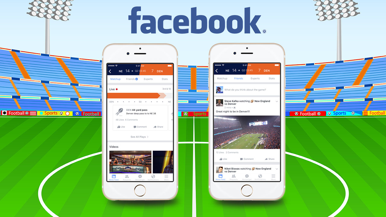 First real-time sports stadium launched by Facebook