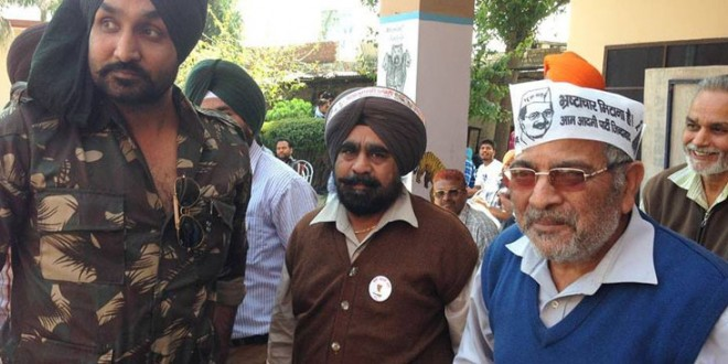 Won't back AAP if it inducts corrupt in Punjab: Dharamvira Gandhi, Party MP