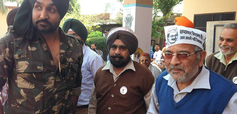 Won't back AAP if it inducts corrupt in Punjab Dharamvira Gandhi, Party MP