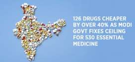 126 drugs cheaper by over 40% as Modi govt fixes ceiling for 530 essential medicine