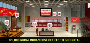 129,000 Rural Indian Post Offices to go Digital