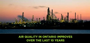 Air Quality In Ontario Improves Over The Last 10 Years