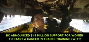 BC-announced-$1.8-million-support-for-women-to-start-a-career-in-Trades-Training