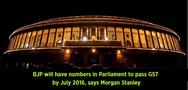 BJP-will-have-numbers-in-Parliament-to-pass-GST-by-July-2016,-says-Morgan-Stanley