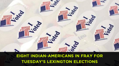 Eight Indian-Americans in fray for Tuesday's Lexington elections
