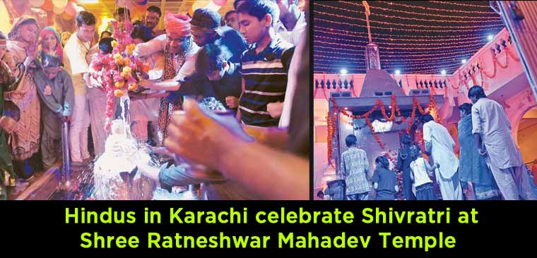 Hindus-in-Karachi-celebrate-Shivratri-at-Shree-Ratneshwar-Mahadev-Temple
