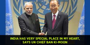 India has very special place in my heart : UN Chief Ban Ki-moon