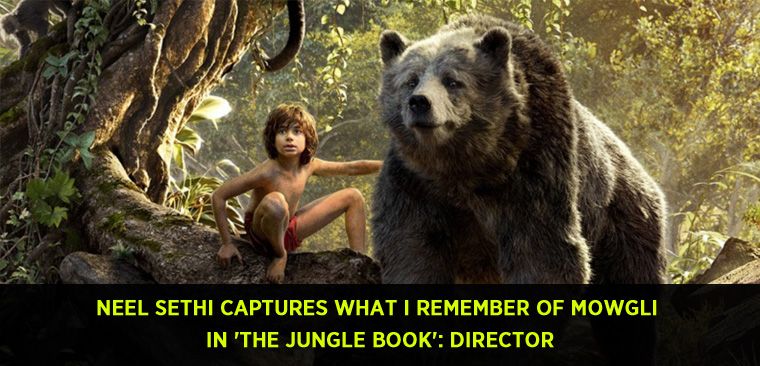Indian-American Neel Sethi captures what I remember of Mowgli in 'The Jungle Book' Director