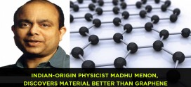 Indian-origin physicist Madhu Menon, discovers material better than graphene