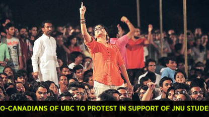Indo-Canadians of UBC to protest in support of JNU students