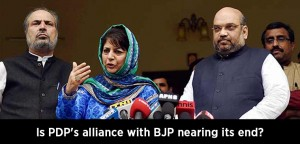 Is PDP's alliance with BJP in Kashmir nearing its end